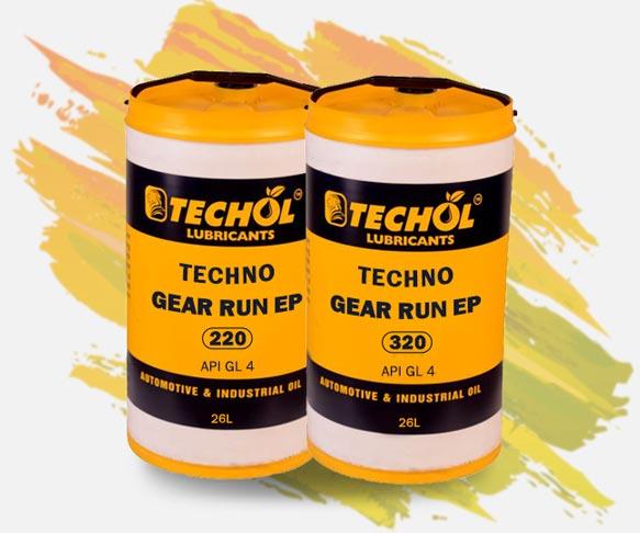 Industrial Gear Oil – Techol Lubricants